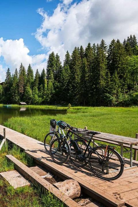 Rund um die Dörfer  kann man sich wunderbar in der Natur erholen.  | Foto: Gstaad Tourismus