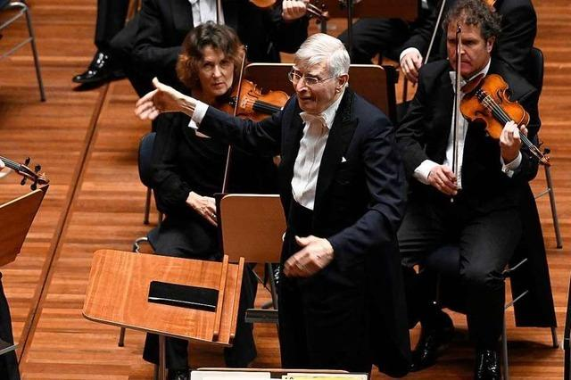 Der Dirigent Herbert Blomstedt zur Coronakrise