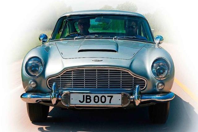 Ein Aston Martin ist der heimliche Stars der James-Bond-Filme