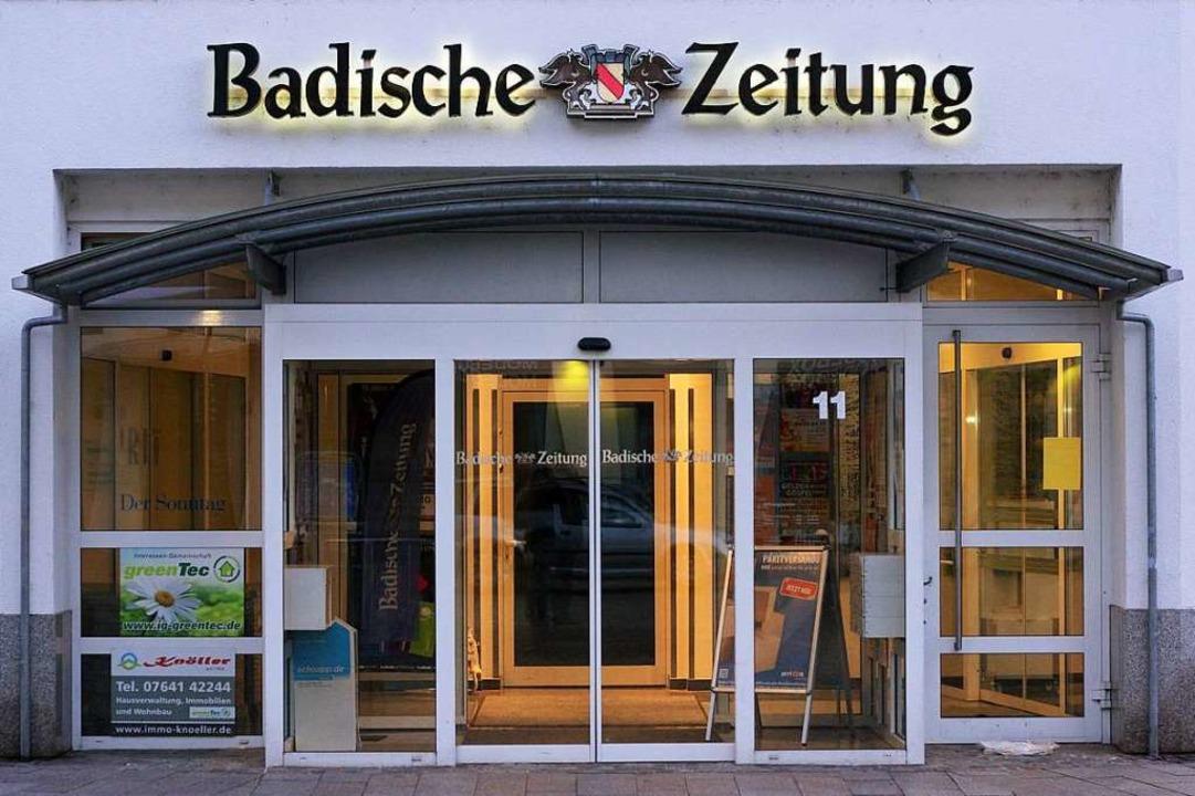 Als Schutzmaßnahme bis auf Weiteres geschlossen: die BZ-Geschäftsstellen  | Foto: Martin Wendel