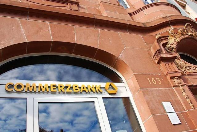 Die Commerzbank Lörrach steigert ihr Geschäftsvolumen