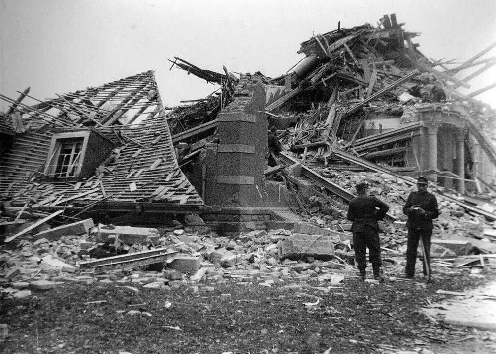 Auch das Elektrizitätswerk gehörte zu den Zielen der Bombenangriffe auf  Lahr.  | Foto: Michael Bamberger
