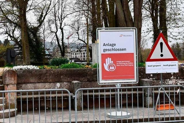 Überall in der Region Lörrach herrscht Stille – außer im Baumarkt