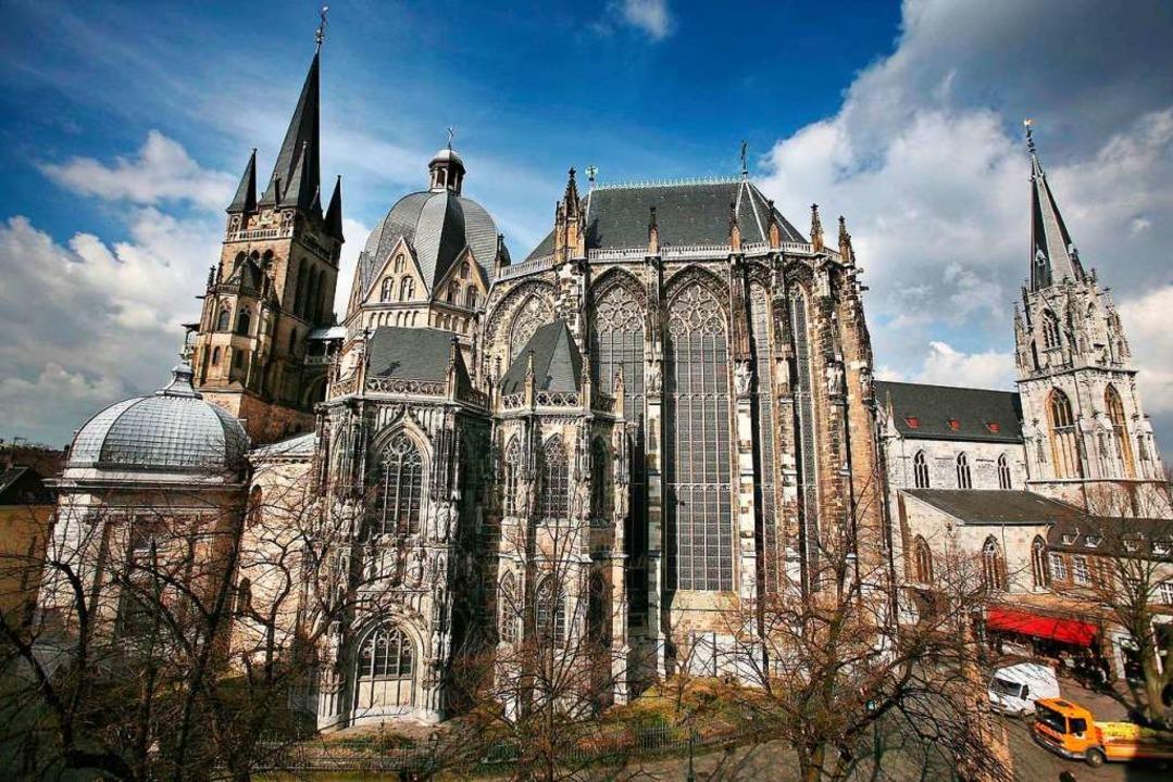 Der Dom zu Aachen.  | Foto: Verwendung weltweit, usage worldwide