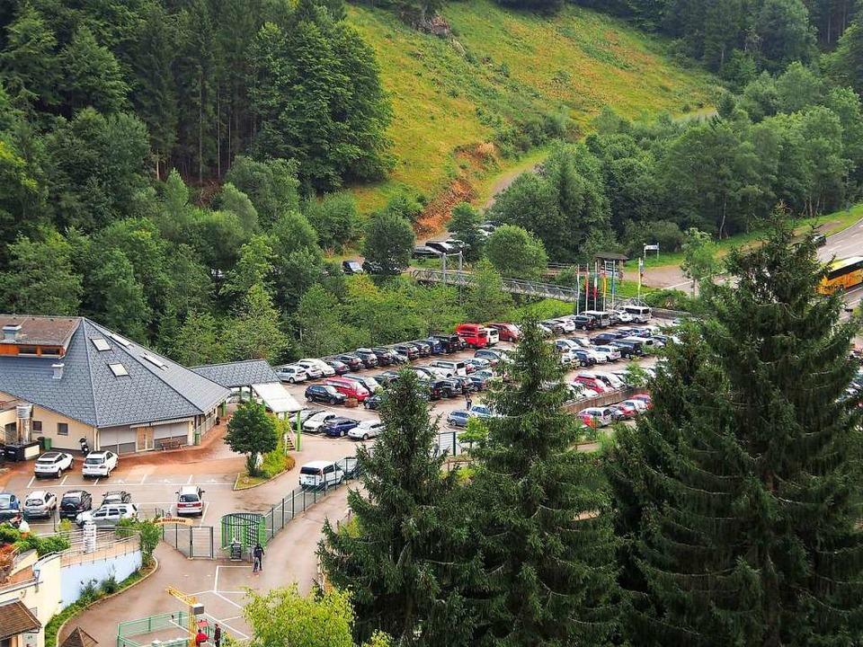 Am Steinwasen-Parkplatz  hätten sich die Caravans gehäuft (Symbolbild).  | Foto: Markus Donner
