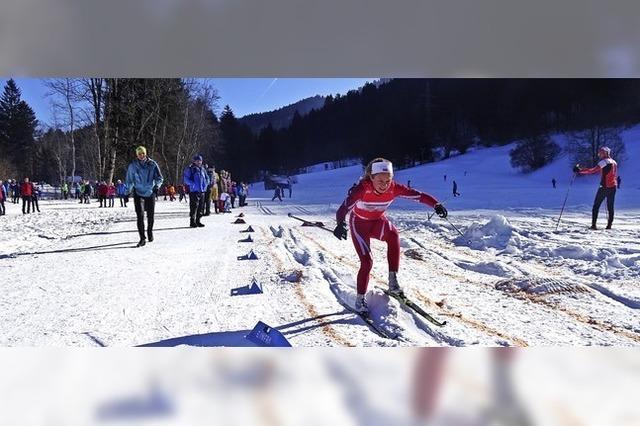 Leonie Maier ist die beste U-15-Skilangläuferin