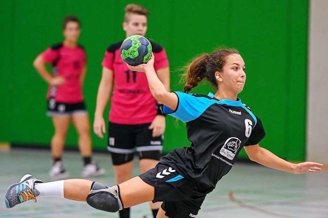 Lena Rimpf, die überragende Spielmacherin des ESV Freiburg, wechselt zum Lokalrivalen HSG