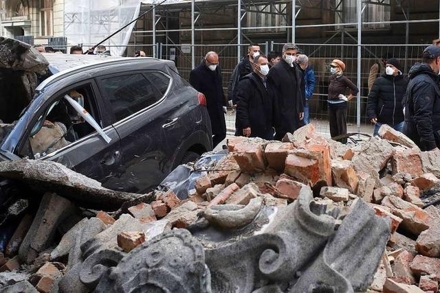 Zwei schwere Erdbeben erschüttern Zagreb