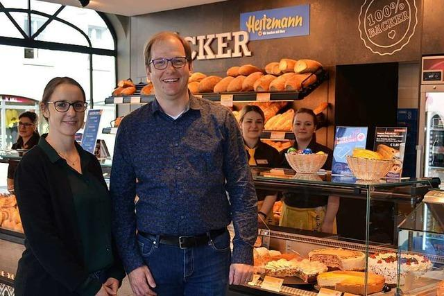Heitzmann öffnet Bäckerei mit Café am Waldkircher Marktplatz