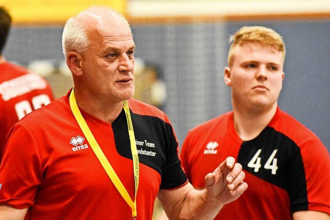 Jürgen Brandstaeter, hier als Trainer ...-Jugend der SG Meißenheim-Nonnenweier.  | Foto: Sebastian Koehli