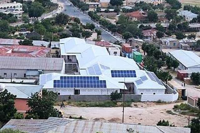 Die mit Unterstützung aus Lörrach gebaute Frühchenstation in Eritrea ist fast fertig