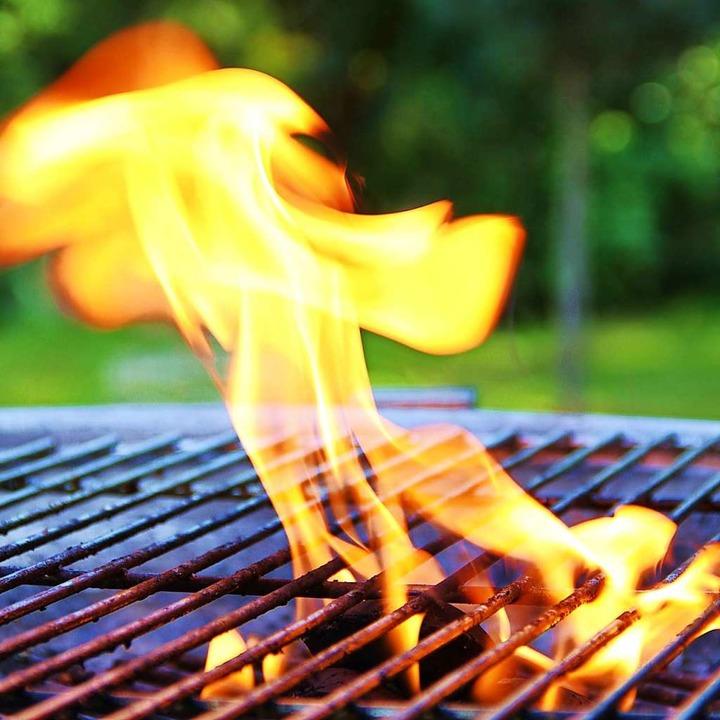In Inzlingen geriet ein Grill in Brand (Symbolfoto).  | Foto: -
