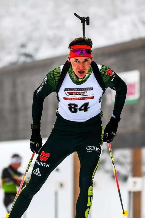Im Duo zu den Paralympics:  Robin Wunderle will es schaffen.  | Foto: Gerd Gruendl