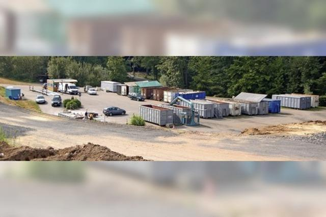 Corona hat auch Deponien und Wertstoffhöfe im Griff
