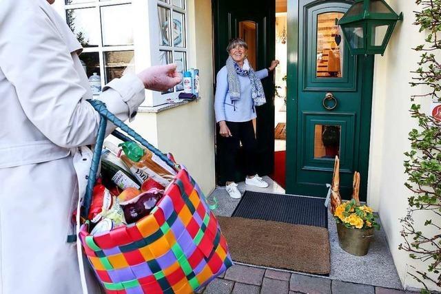 Das Rote Kreuz startet Im Kreis Lörrach eine Einkaufshilfe