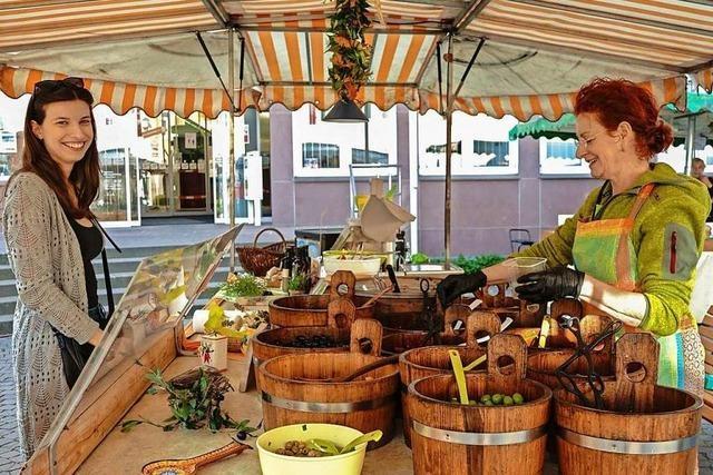 In Coronazeiten ist es auf dem Markt ruhiger als sonst – ein Besuch auf dem Marienplatz