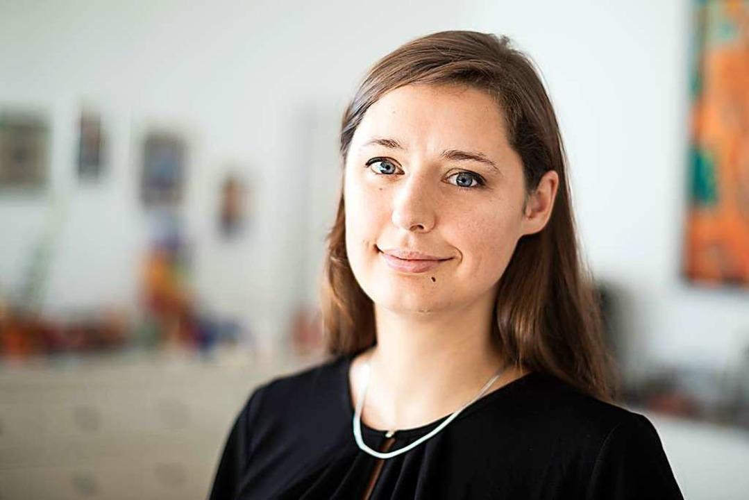 Katharina Nocun kam nicht nach Lörrach, sprach aber mit der BZ.  | Foto: Gordon Welters