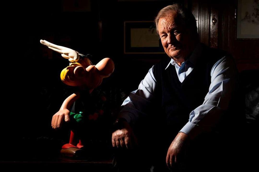 Albert Uderzo im Jahr 2013  | Foto: JOEL SAGET (AFP)