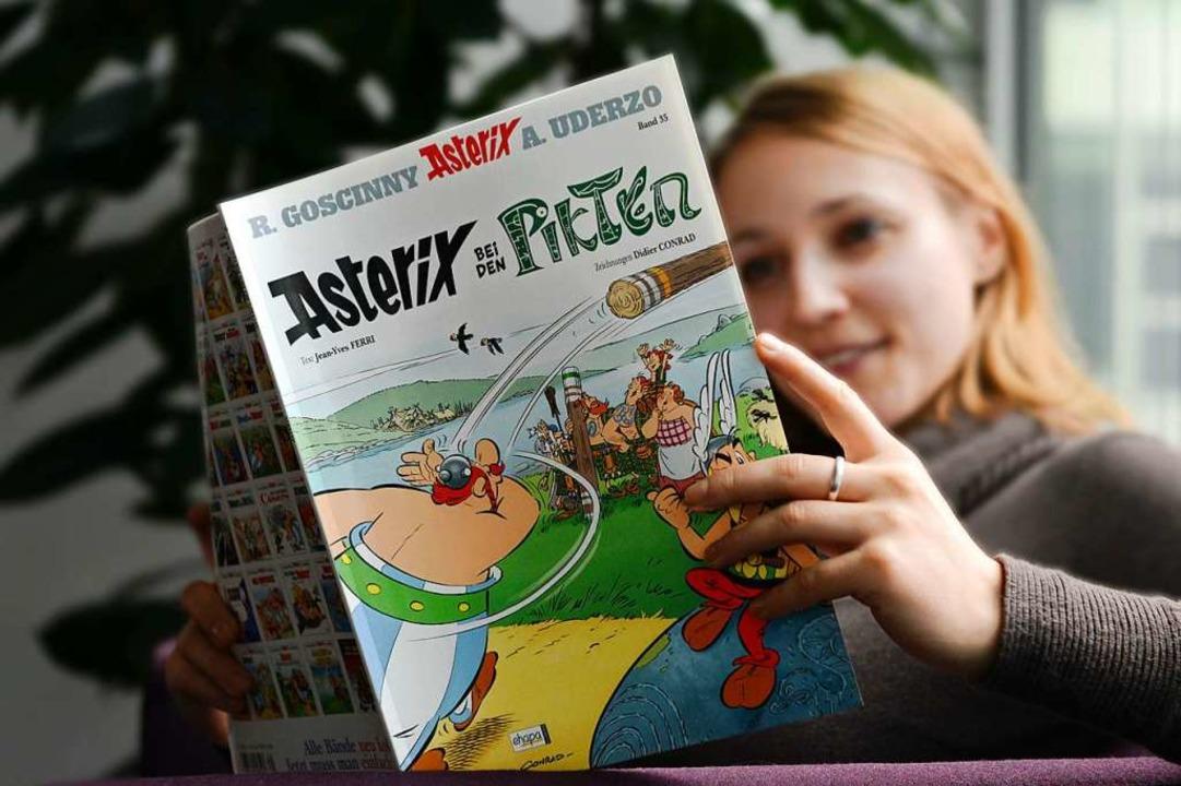 Asterix-Comics gehören zu den Klassikern auf dem Markt.  | Foto: Soeren Stache