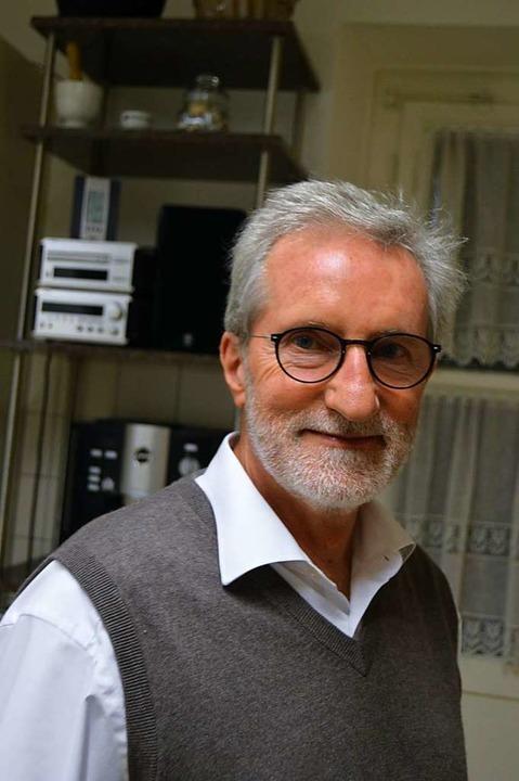 Wolfgang Röhling ist einer der Initiat...er Bürgergenossenschaft für Heuweiler.  | Foto: Wolfgang Röhling