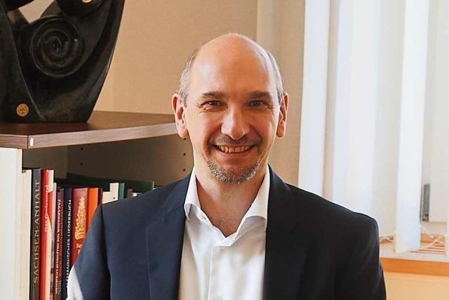Buchenbachs neuer Bürgermeister tritt sein Amt während der Coronakrise an