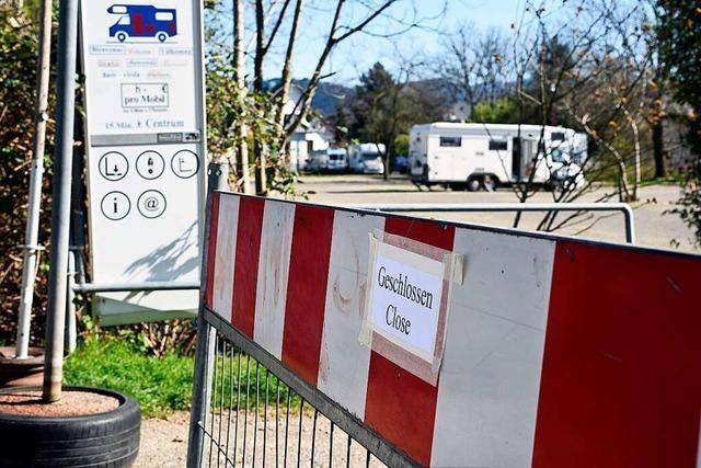 Freiburgs Campingplätze sind dicht, der Wohnmobilstellplatz zieht nach