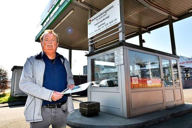 Seit über 50 Jahren betreibt Dieter Zöllner den Freiburger Verkehrsübungsplatz