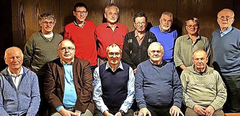 Die neu gewählte Vorstandschaft der Windener Chorsänger.   | Foto: Verein
