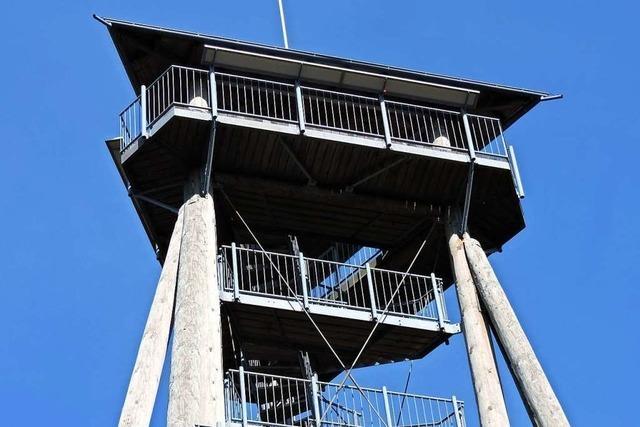Freiamt: Hünersedelturm ab sofort gesperrt