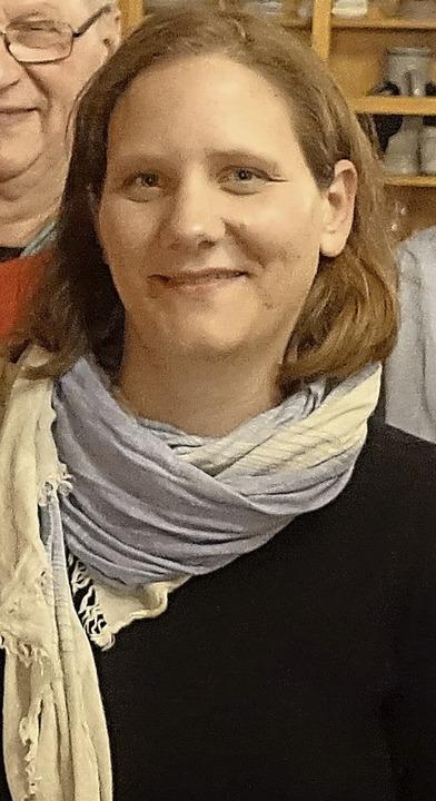 <ppp> und </ppp>Mia Sanner stellten sich in Bonndorf vor.  | Foto: Heidi Rombach