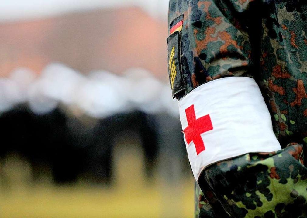 Symbolbild: Sanitätssoldaten werden zur Unterstützung nach Südbaden geschickt    Foto: Ingo Wagner
