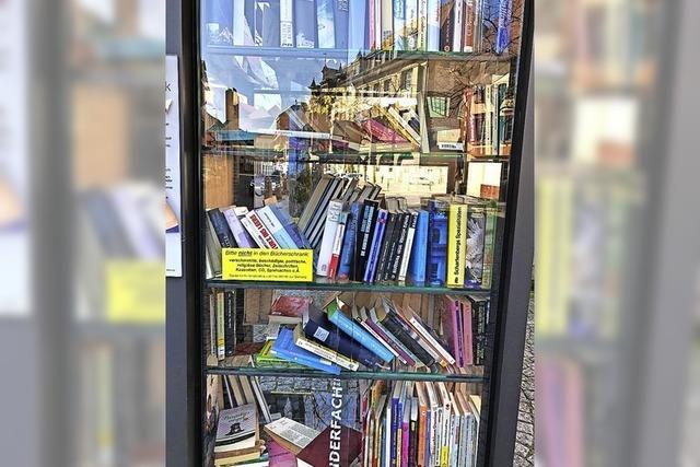 Bücherschrank-Pause