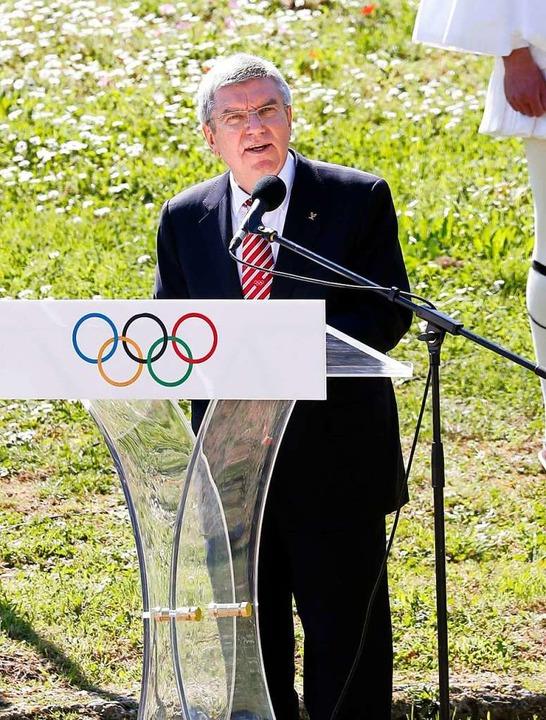 Das Ziel, die olympischen Spiele in To...ischen Komitees (IOC), nicht erreicht.  | Foto: - (dpa)