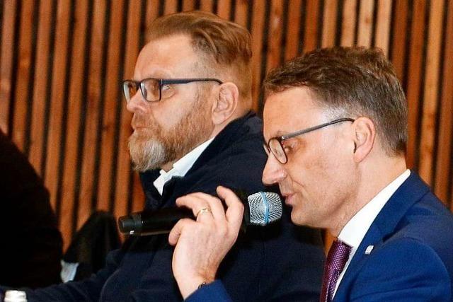 Oberbürgermeister Ibert verteidigt die Entscheidung zum Seepark