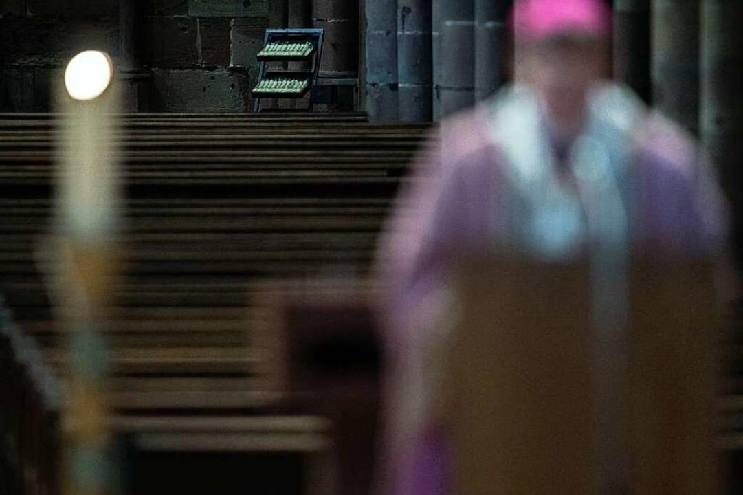 Was ist die katholische Kirche ohne da...s nach Gemeinsamkeit am Ende gestärkt?  | Foto: Patrick Seeger (dpa)