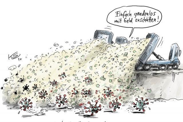 Die Seuchenbekämpfer Scholz & Altmaier