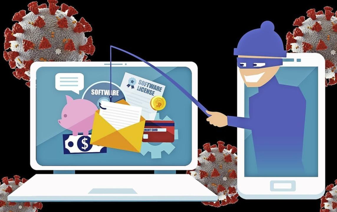 Derzeit sind besonders viele Internetkriminelle unterwegs