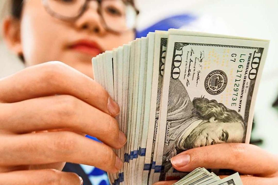 Wird das Geld reichen?  | Foto: STR (AFP)