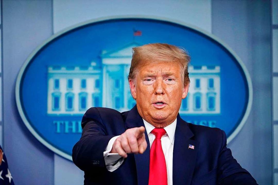 Donald Trump.  | Foto: MANDEL NGAN (AFP)