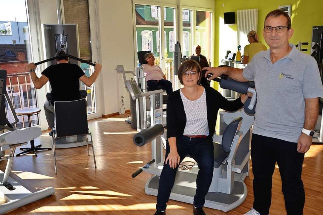 Sabine und Christian Kollmer haben einen Schichtbetrieb eingeführt.  | Foto: Karin Kaiser