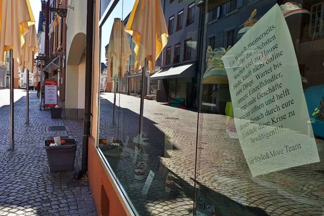Um die Ausbreitung des Coronavirus zu ...lhändler am Hochrhein trifft das hart.  | Foto: Erika Bader