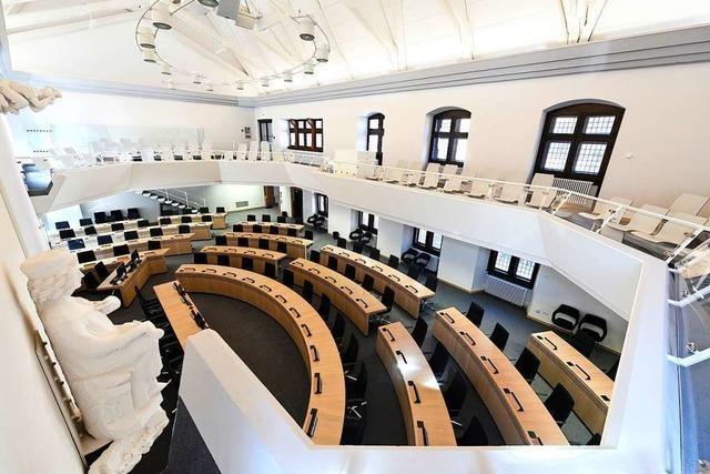 Das Coronavirus hat den Freiburger Gemeinderat lahmgelegt