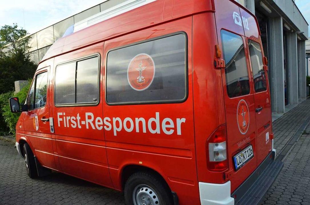 Die First Responder haben ihren Dienst...ute vor Ansteckungsgefahr zu schützen.    Foto: Victoria Langelott