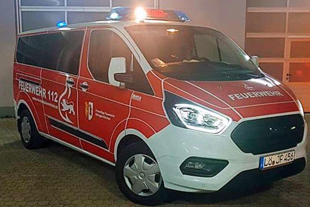 Die Feuerwehr Efringen-Kirchen hat ein... des Coronavirus fürs Erste ausfallen.    Foto: Philipp Haberstroh