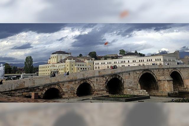 Im Sommer fahren wir immer in unser Heimatland Mazedonien