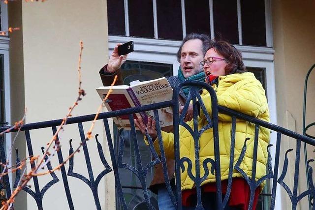 Querbeetsingen am Samstag als Fenster- und Balkonkonzert