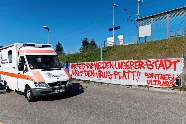 So zeigt Südbaden Solidarität mit seinen Helfern in der Coronakrise