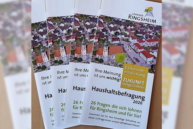 Gemeinde Ringsheim befragt ihre Bürger