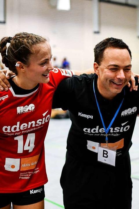 Trainer Ralf Wiggenhauser räumt ein, d...icht war mit der kritischen Spielerin.  | Foto: Patrick Seeger