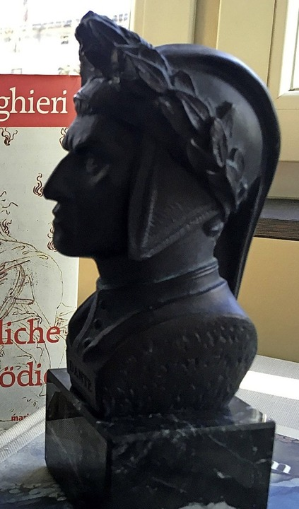 Dante in Bronze  | Foto: Klaus Blume (dpa)